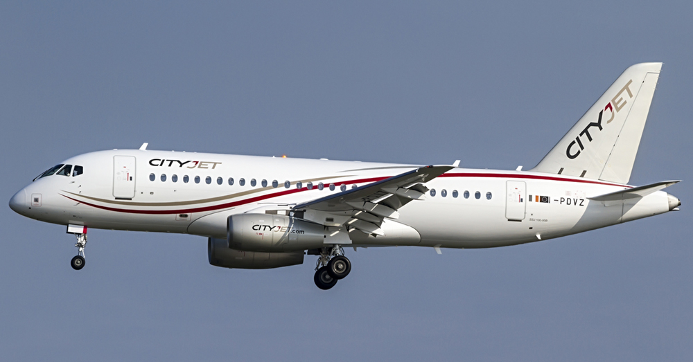 New Cityjet Superjet Takes Off From Cork Airport