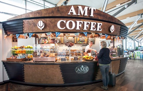 AMT Coffee in Departures at Cork Airport