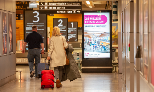 Advertise at Cork Airport