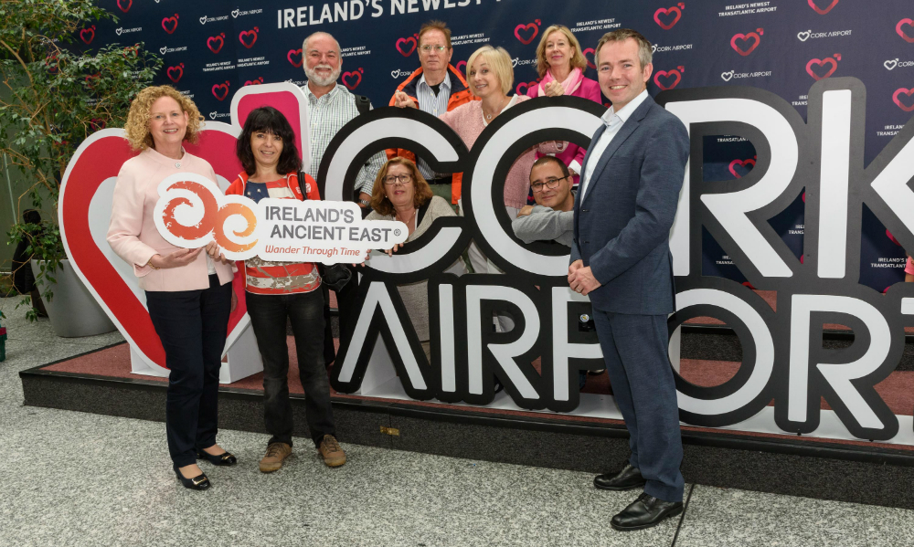 <p>A group of Spanish journalists have arrived today in Cork Airport on an Iberia Express flight from Madrid, to find out what Cork can offer Spanish visitors when they arrive at the gateway to the South of Ireland – and to the Ireland's Ancient East region.