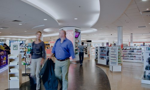 Shopping at The Loop at Cork Airport