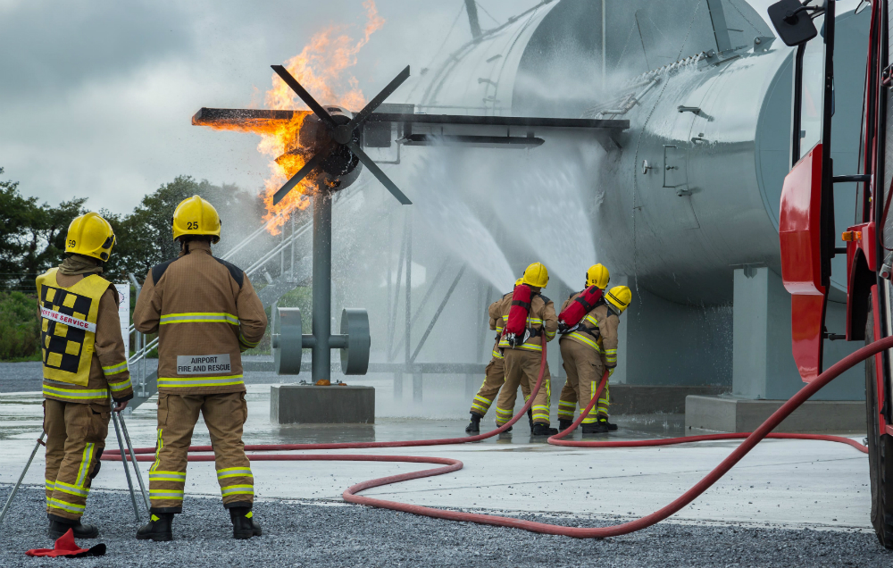 Aircraft Emergencies Workshop At Cork Airport -Simulations part of the global Emergency Medical Service (EMS) Gathering 2018