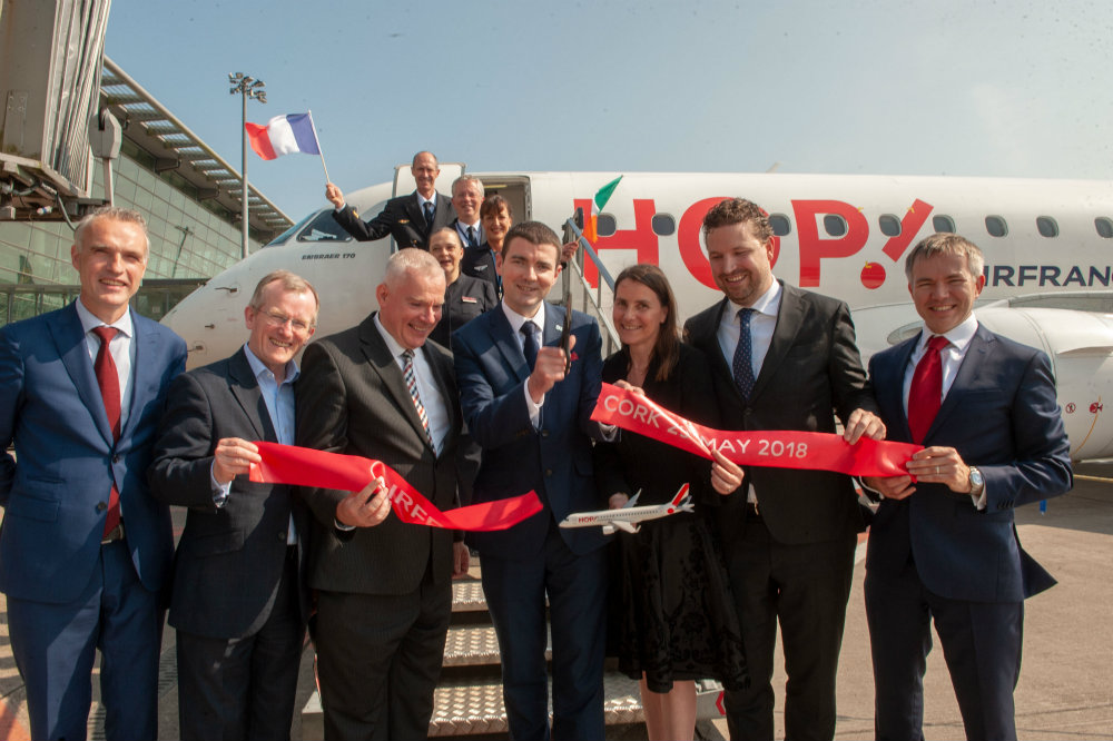 Cork Airport Welcomes Inaugural Air France Flight